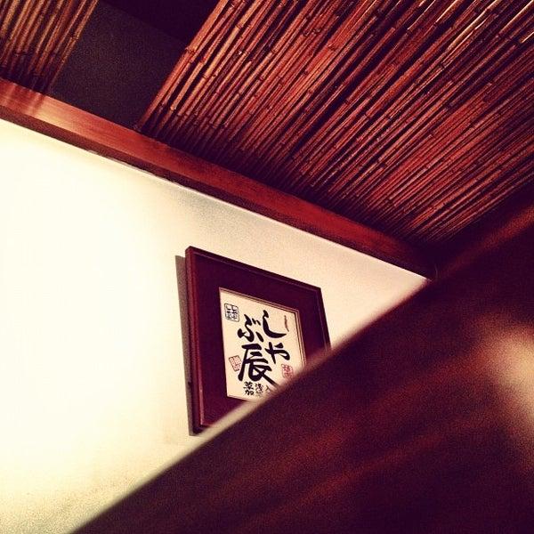Photo taken at Shabu-Tatsu by Echo M. on 7/7/2012