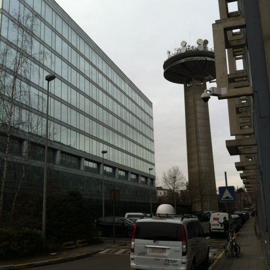 Photo prise au RTBF par Hendrik D. le2/16/2012