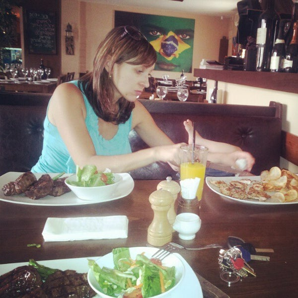 Photo taken at Little Brasil by d b. on 5/1/2012