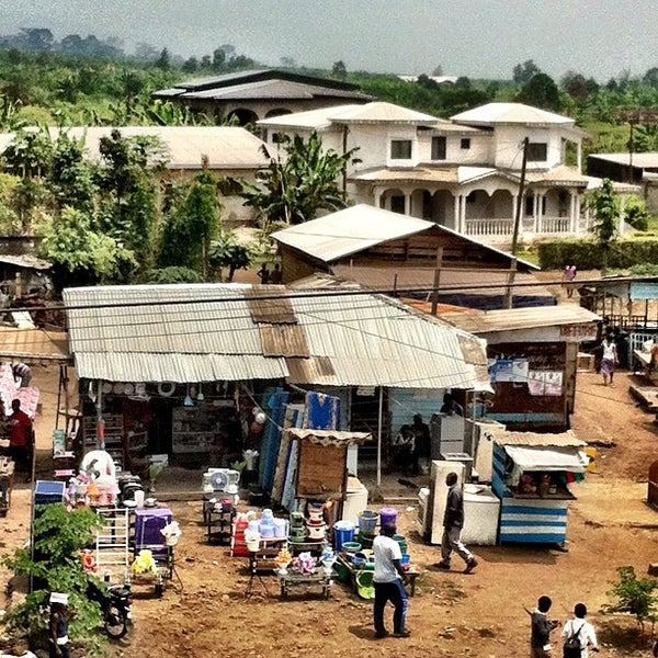 Photo taken at Buea by Carece S. on 3/15/2012