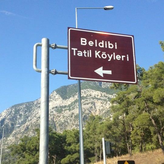 Photo taken at Beldibi by ♌Anıl C. on 8/19/2012
