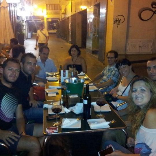 Photo taken at La Casseta de Patricia by Agustín R. on 7/21/2012
