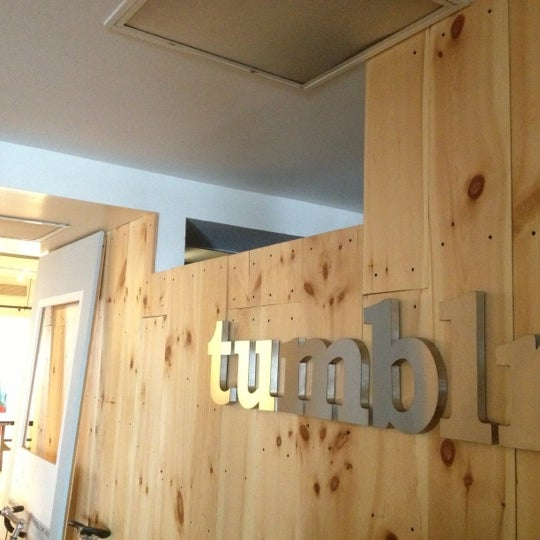 Photo taken at Tumblr HQ by Amit J. on 7/21/2012