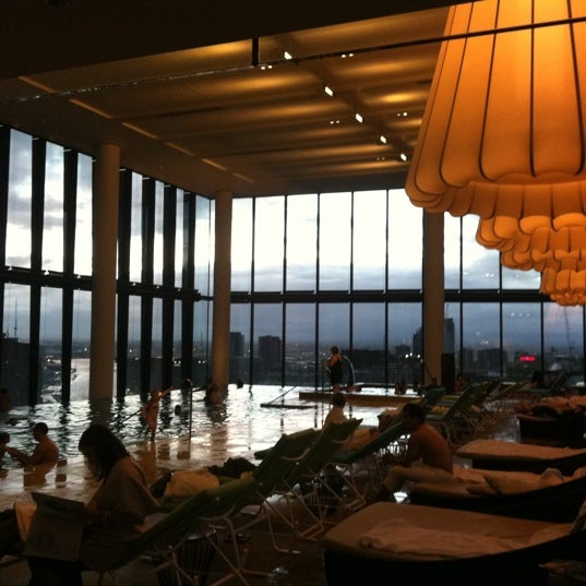 Photo taken at Crown Metropol Hotel by Alper U. on 7/3/2012