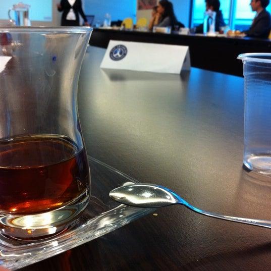 Photo taken at TAV Airports by Murat on 2/16/2012