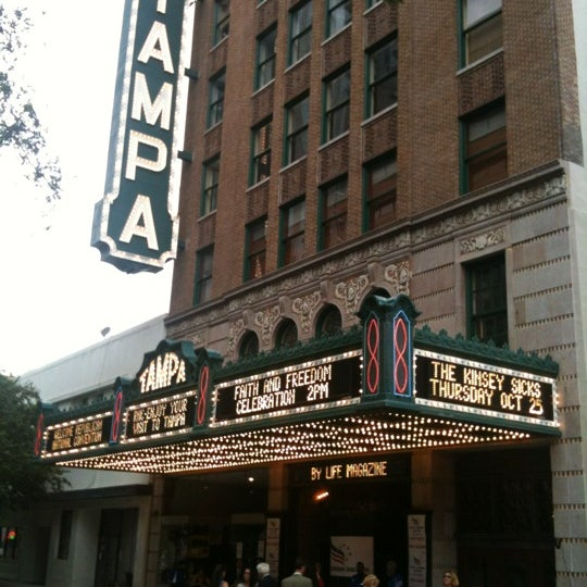 Photo taken at Tampa Theatre by Cameron G. on 8/26/2012