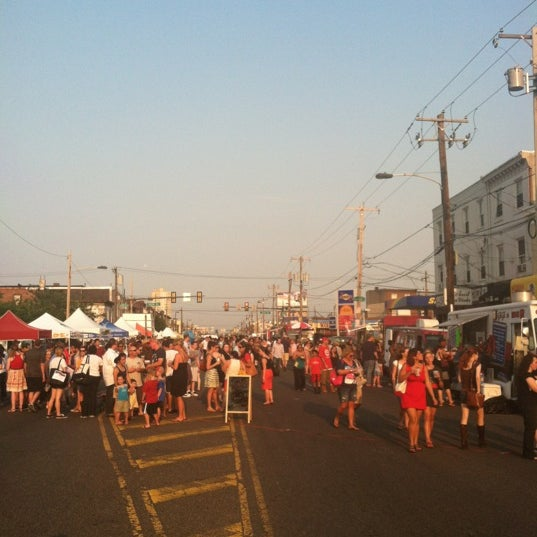 Photo taken at Night Market Washington Avenue by Melanie on 6/28/2012
