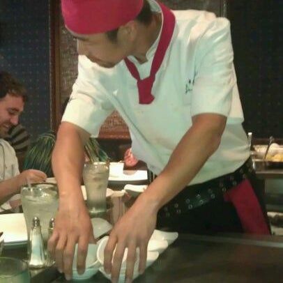 Photo taken at Aomi Japanese Steakhouse by Catherine A. on 5/25/2012