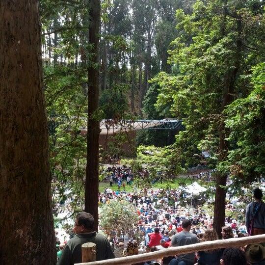 Photo taken at Sigmund Stern Grove by Scott .. on 8/26/2012