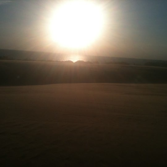 Photo taken at Jockey's Ridge State Park by Olympia L. on 4/14/2012