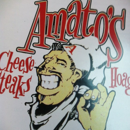 Photo taken at Amato's Cheesesteaks by Brian H. on 4/22/2012
