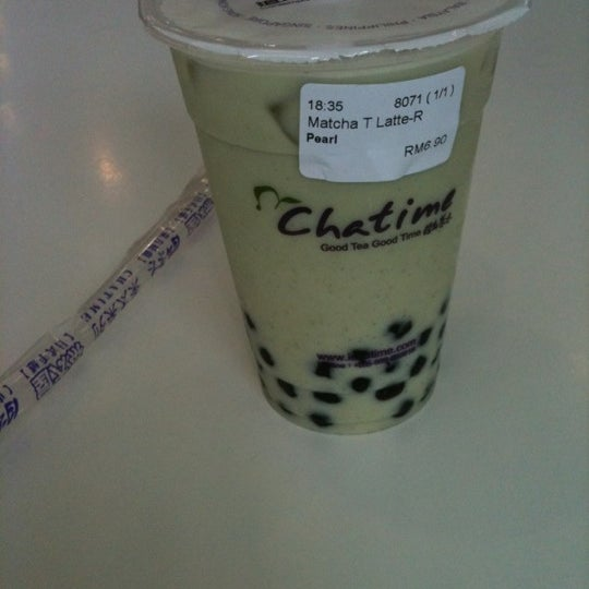 Photo taken at Chatime by Deirdre P. on 3/27/2012