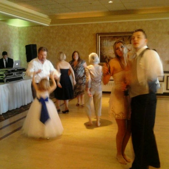 Photo taken at Quidnessett Country Club by Joshua S. on 5/12/2012