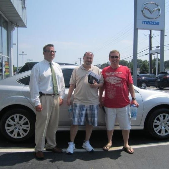 Photo Taken At Mazda Of South Charlotte By Chip N. On 9/8/