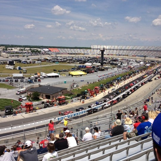 Photo taken at Dover International Speedway by Jamie Y. on 6/3/2012
