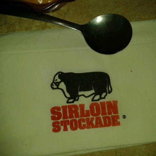 Photo taken at Sirloin Stockade Plaza Loreto by Mario S. on 8/23/2012