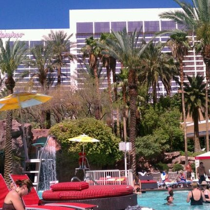 Photo taken at Flamingo GO Pool by Rose R. on 6/16/2012