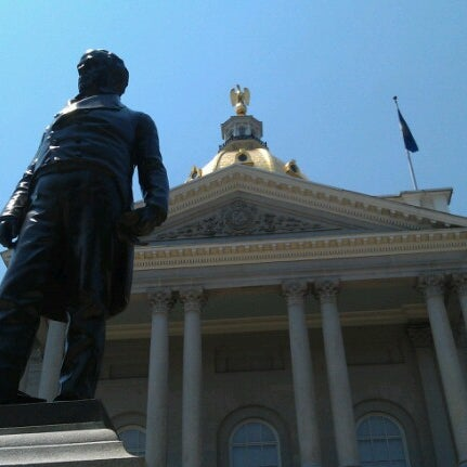 Photo taken at New Hampshire State House by Amy S. on 6/29/2012