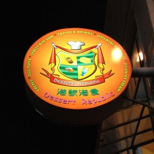 Photo taken at Dessert Republic by Felice L. on 4/29/2012