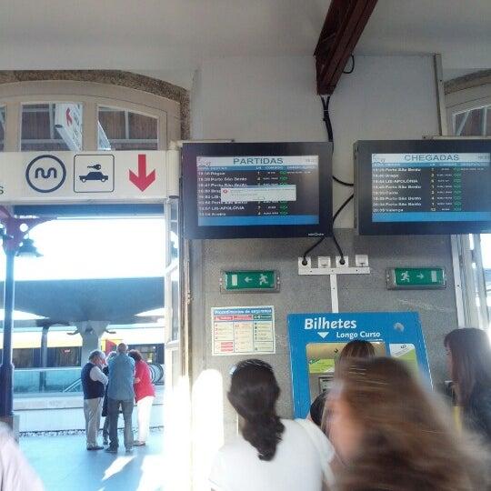 Photo taken at Estação Ferroviária de Porto-Campanhã by João S. on 8/5/2012