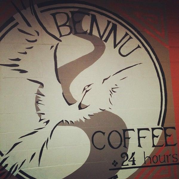 Photo taken at Bennu Coffee by John S. on 3/15/2012