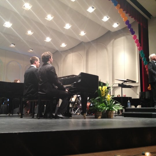 Photo taken at Centennial Hall by Gary M. on 3/18/2012