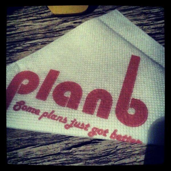 Photo taken at Plan B by Sreedev N. on 5/27/2012