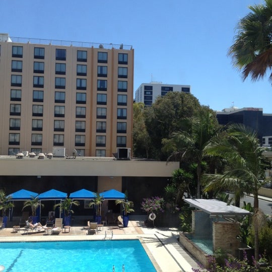 Photo taken at Four Points by Sheraton Los Angeles International Airport by Luis C. on 8/12/2012