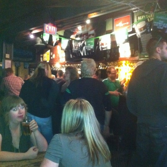 Photo taken at King's Head Pub by Dayle F. on 3/17/2012