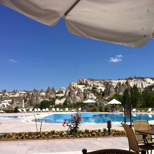 6/12/2012 tarihinde Zeynep İ.ziyaretçi tarafından Tourist Hotels & Resorts Cappadocia'de çekilen fotoğraf