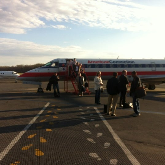 Photo taken at Westchester County Airport (HPN) by Jenna S. on 4/4/2012