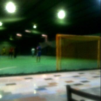 Photo taken at Anis & Eisya Danau Futsal by Dikl F. on 2/28/2012