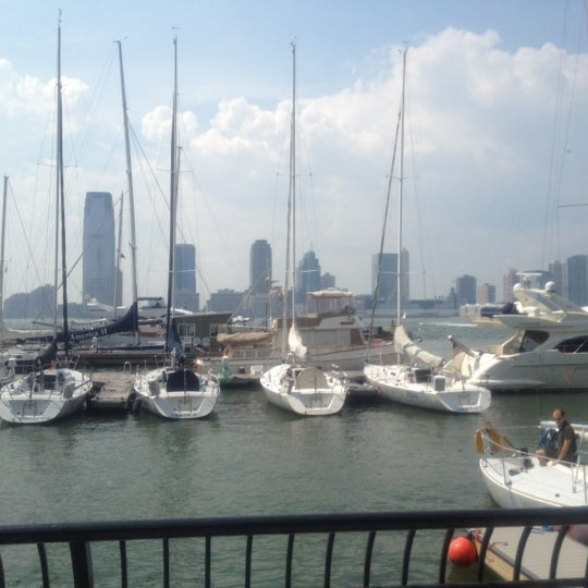 Photo taken at Battery Park City Esplanade by Monica S. on 8/23/2012