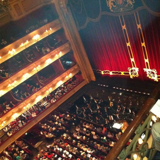 Photo taken at Royal Opera House by Jay T. on 7/7/2012