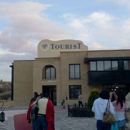 4/8/2012 tarihinde Pau A.ziyaretçi tarafından Tourist Hotels & Resorts Cappadocia'de çekilen fotoğraf