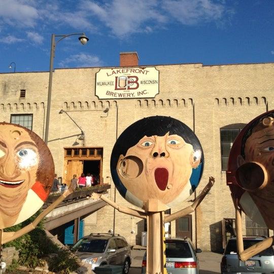 Photo prise au Lakefront Brewery par Jason A. le7/27/2012