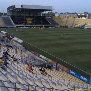 Photo taken at MAPFRE Stadium by Ric W. on 7/14/2012