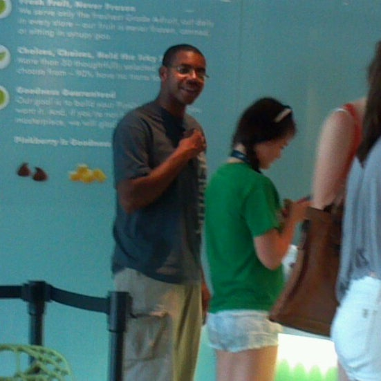 Photo taken at Pinkberry by Courtney H. on 7/17/2012