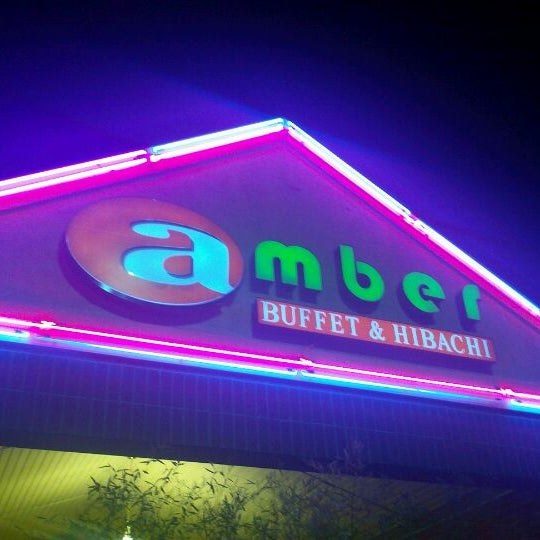Photo taken at Amber Buffet & Hibachi by Keisha C. on 5/9/2012