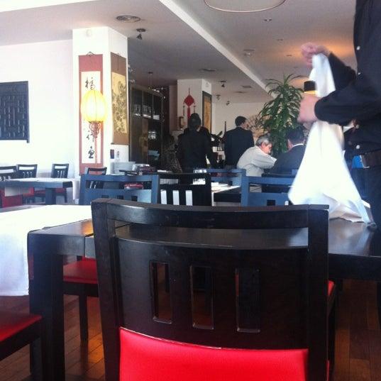 Photo taken at Cafe Tibet by Jose M S. on 2/15/2012