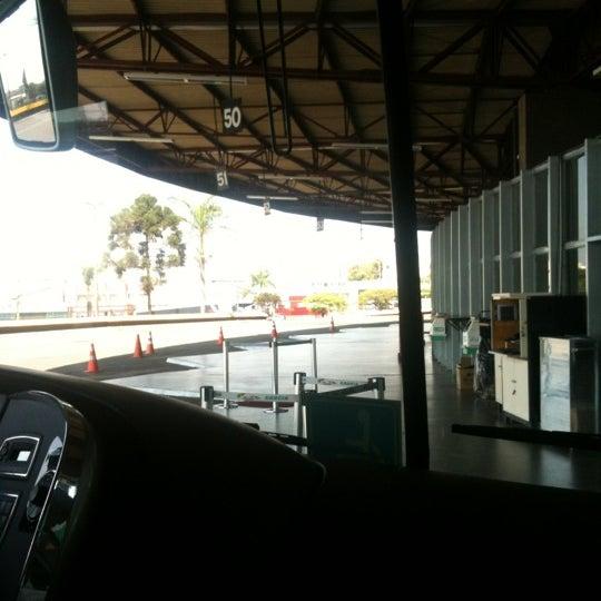 Photo taken at Terminal Rodoviário José Garcia Villar by Val G. on 9/7/2012