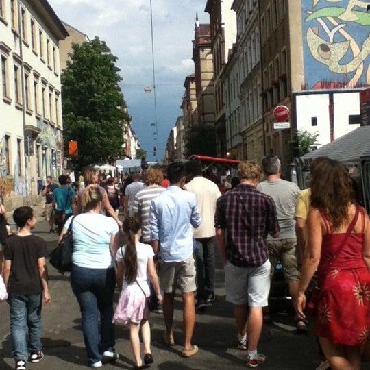 Photo taken at BRN - Bunte Republik Neustadt by Seablue D. on 6/16/2012