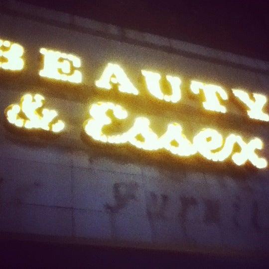 5/20/2012 tarihinde Natalia C.ziyaretçi tarafından Beauty & Essex'de çekilen fotoğraf