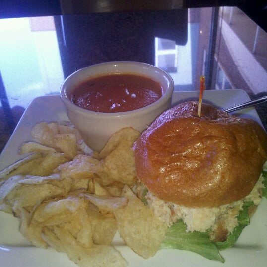 Photo taken at Main Street Bistro and Bakery by Kathy C. on 4/4/2012