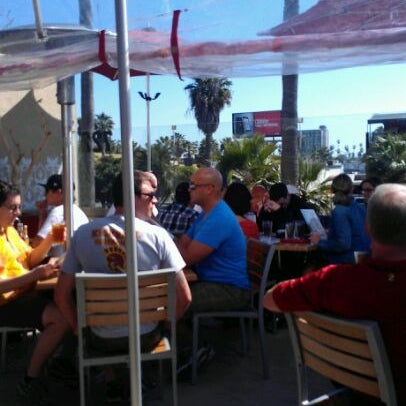 Photo taken at Firehouse Pacific Beach by Carl S. on 2/25/2012