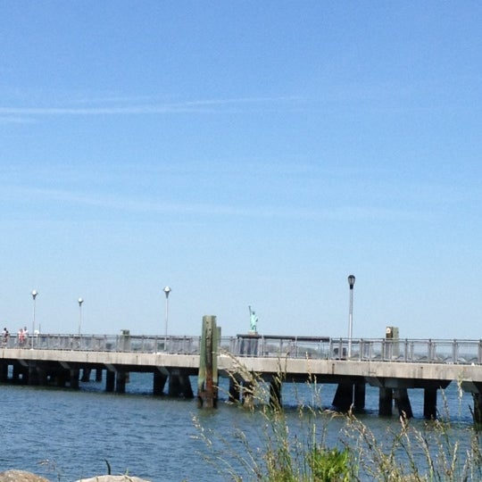 Photo taken at Louis Valentino Jr Park & Pier by Gloria M. on 5/20/2012