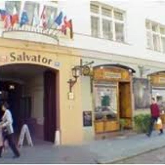 Photo taken at Hotel Salvator by Mark T. on 4/17/2012