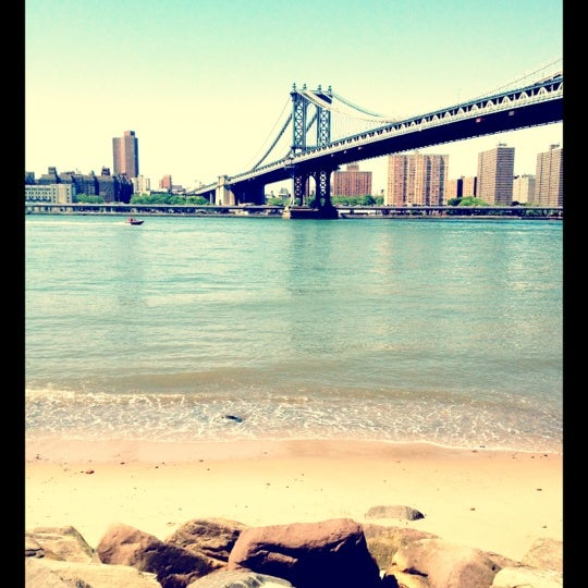 Photo taken at Brooklyn Bridge Park by Claire E. on 5/21/2012