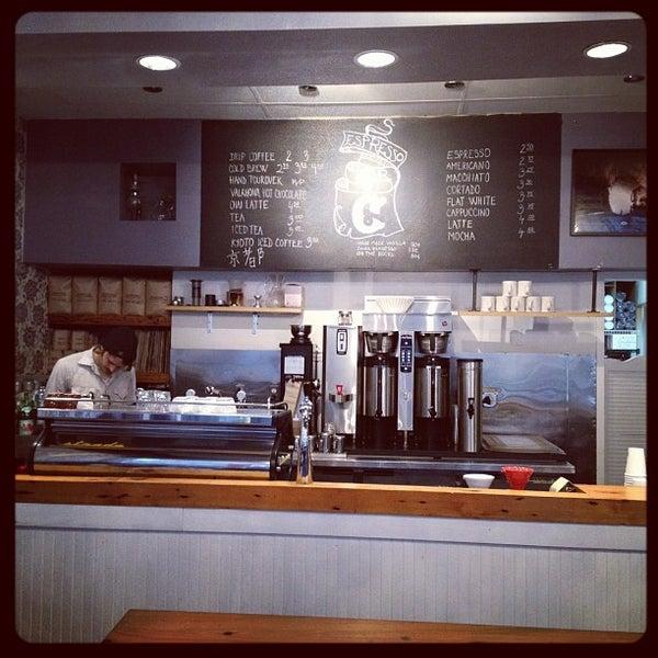 Das Foto wurde bei Culture Espresso von Eric L. am 2/15/2012 aufgenommen