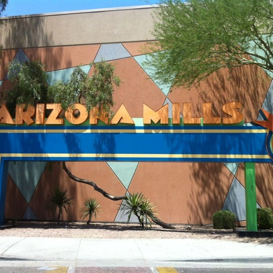 Photo taken at Arizona Mills by brandon on 6/23/2012